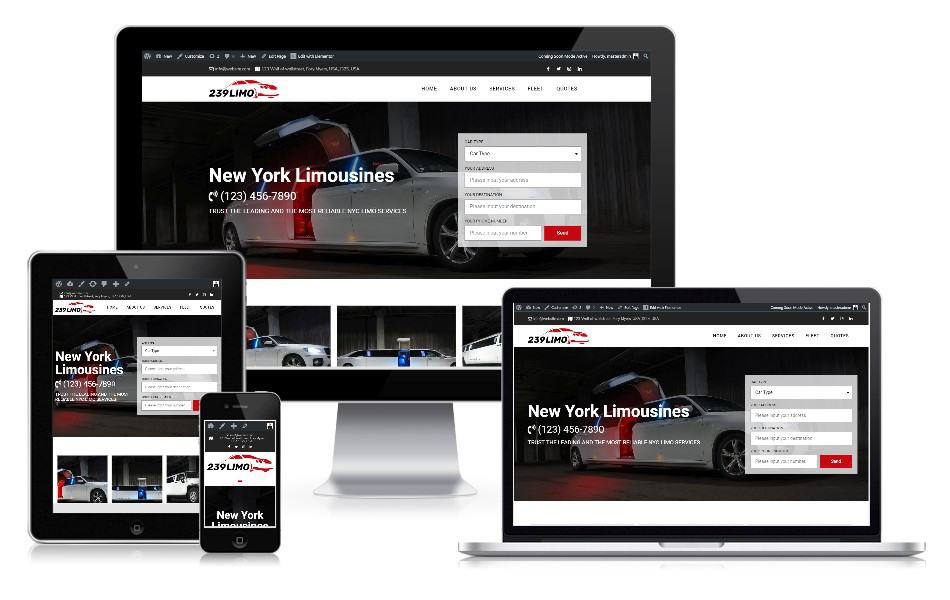 Webseite Limo-Service